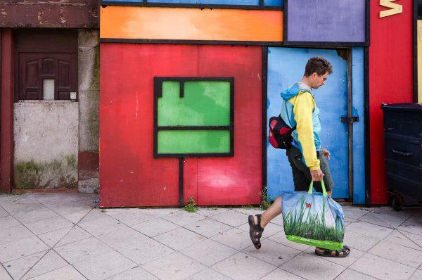 swansea high street colours Math Roberts fotogenik collective street photography