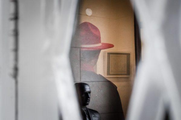 red hat Raphael Valverde fotogenik collective street photography