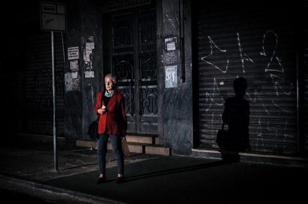 woman in red Raphael Valverde fotogenik collective street photography