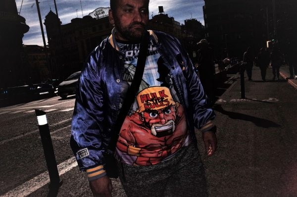 hulk shirt jon bradburn fotogenik collective street photography