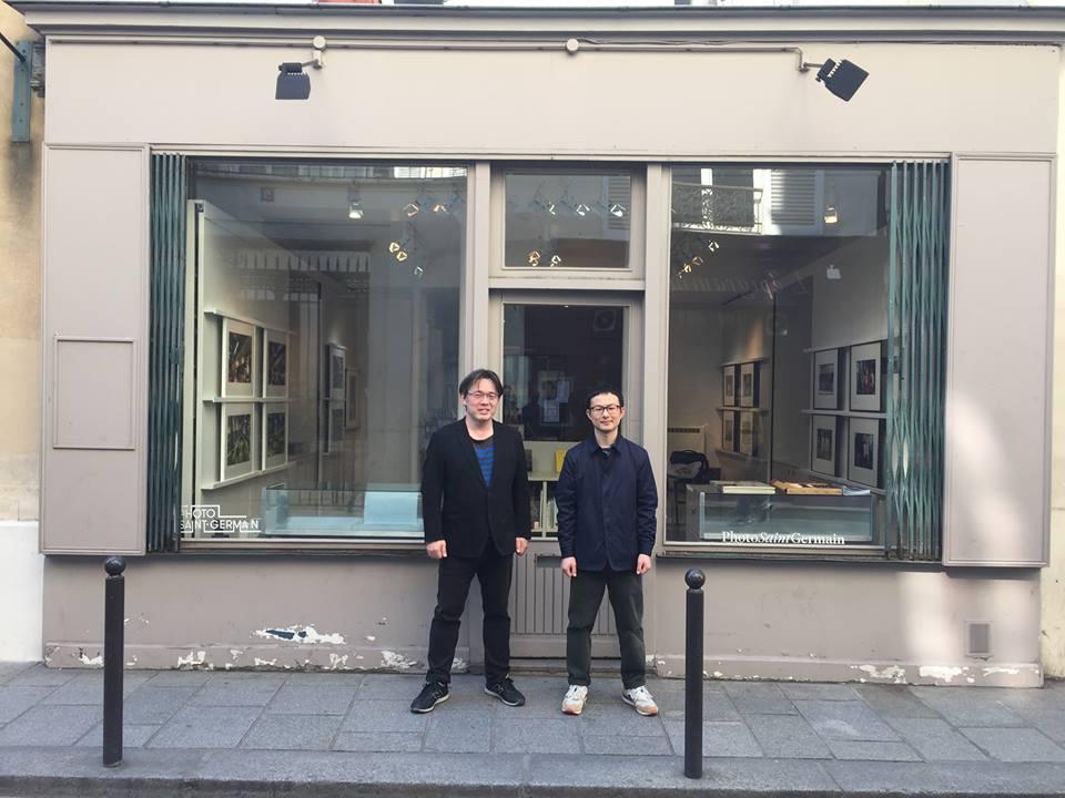 Takehiko Nakafuji and Yosuke Hanazaki Paris Tokyo en couleur Fotogenik collective street photography